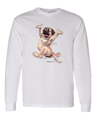 Mastiff - Happy Dog - Long Sleeve T-Shirt