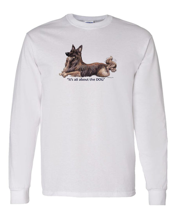 Belgian Tervuren - All About The Dog - Long Sleeve T-Shirt
