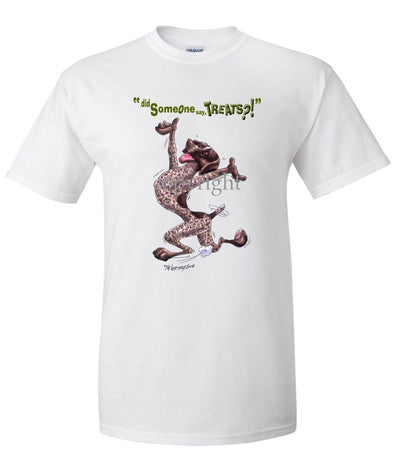German Shorthaired Pointer - Treats - T-Shirt