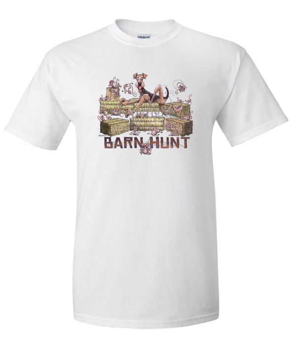 Airedale Terrier - Barnhunt - T-Shirt