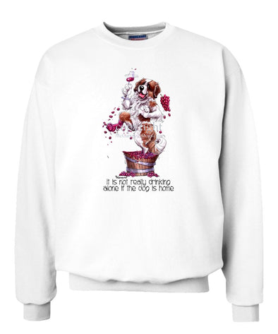 Saint Bernard - It's Not Drinking Alone - Sweatshirt