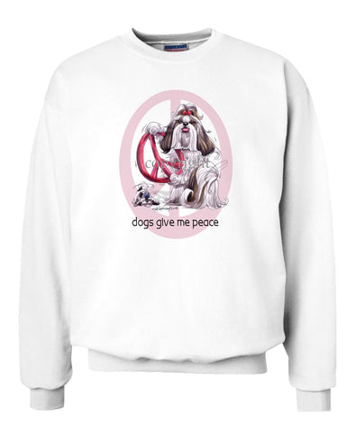 Shih Tzu - Peace Dogs - Sweatshirt