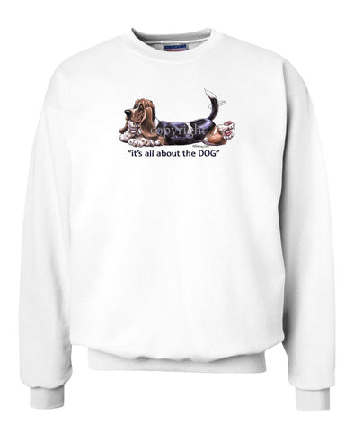 Basset Hound - All About The Dog - Sweatshirt
