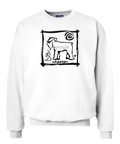 Soft Coated Wheaten - Cavern Canine - Sweatshirt