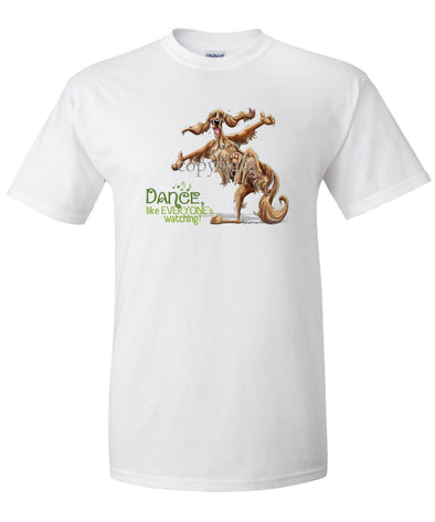 Irish Setter - Dance Like Everyones Watching - T-Shirt