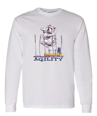 West Highland Terrier - Agility Weave II - Long Sleeve T-Shirt