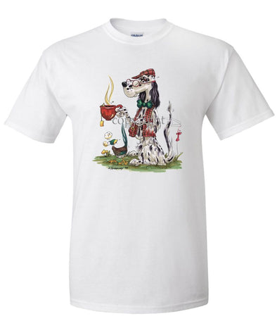 English Setter - Cup Of Tea - Caricature - T-Shirt