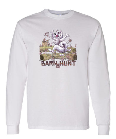 Samoyed - Barnhunt - Long Sleeve T-Shirt