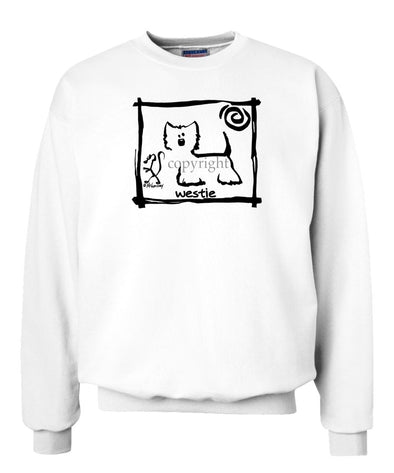 West Highland Terrier - Cavern Canine - Sweatshirt