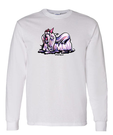 Maltese - Cool Dog - Long Sleeve T-Shirt