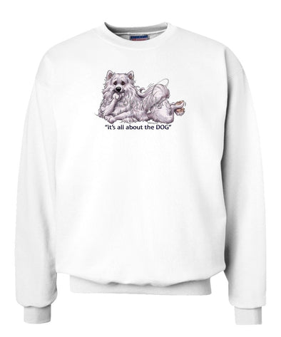 American Eskimo Dog - All About The Dog - Sweatshirt