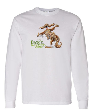 Irish Setter - Dance Like Everyones Watching - Long Sleeve T-Shirt
