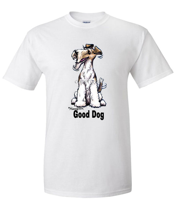 Wire Fox Terrier - Good Dog - T-Shirt