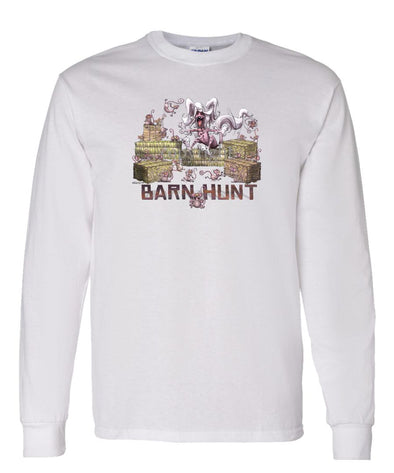 Chinese Crested - Barnhunt - Long Sleeve T-Shirt