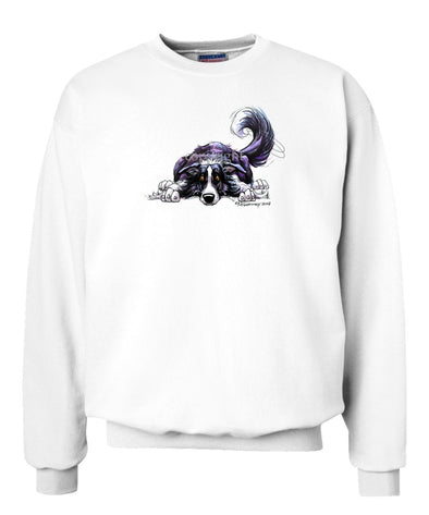 Border Collie - Rug Dog - Sweatshirt
