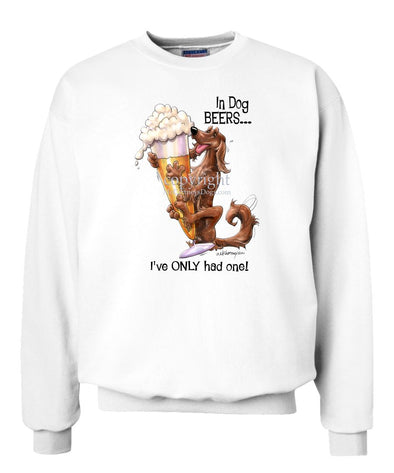 Irish Setter - Dog Beers - Sweatshirt