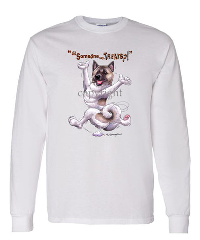 Akita - Treats - Long Sleeve T-Shirt