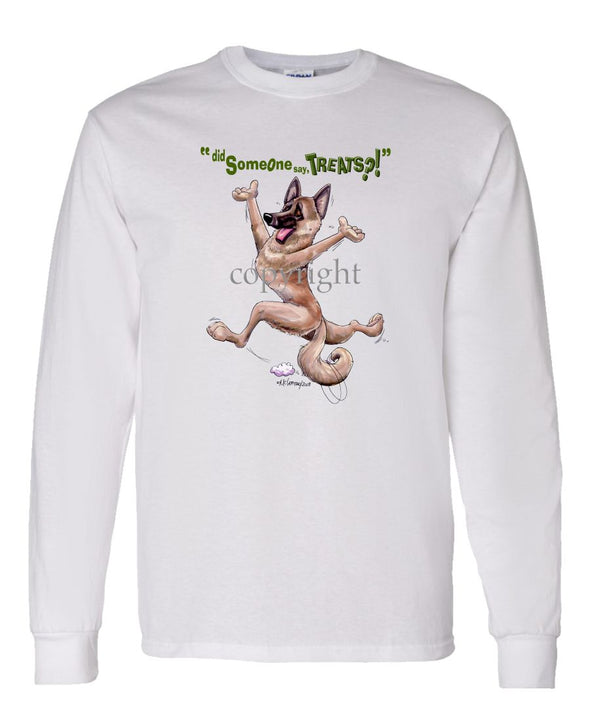 Belgian Malinois - Treats - Long Sleeve T-Shirt