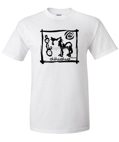 Chihuahua  Longhaired - Cavern Canine - T-Shirt