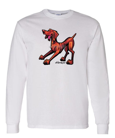 Vizsla - Cool Dog - Long Sleeve T-Shirt