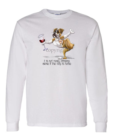 Boxer - It's Drinking Alone 2 - Long Sleeve T-Shirt