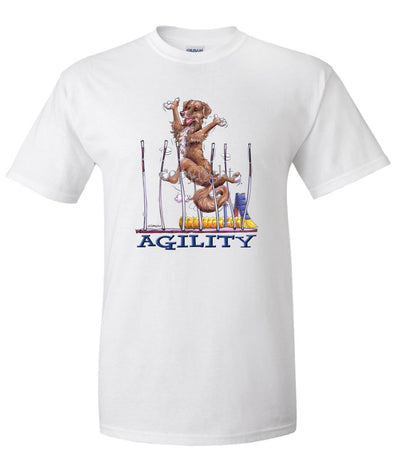Nova Scotia Duck Tolling Retriever - Agility Weave II - T-Shirt