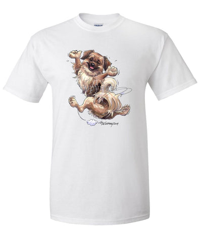 Tibetan Spaniel - Happy Dog - T-Shirt