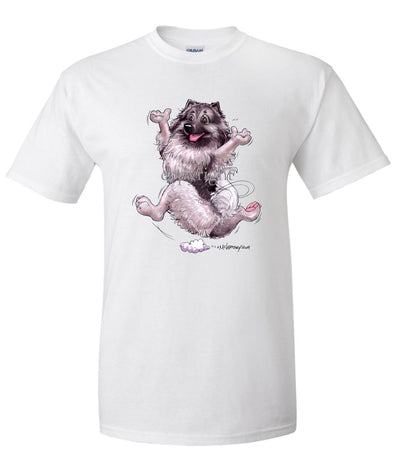 Keeshond - Happy Dog - T-Shirt