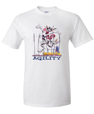 Great Dane  Harlequin - Agility Weave II - T-Shirt