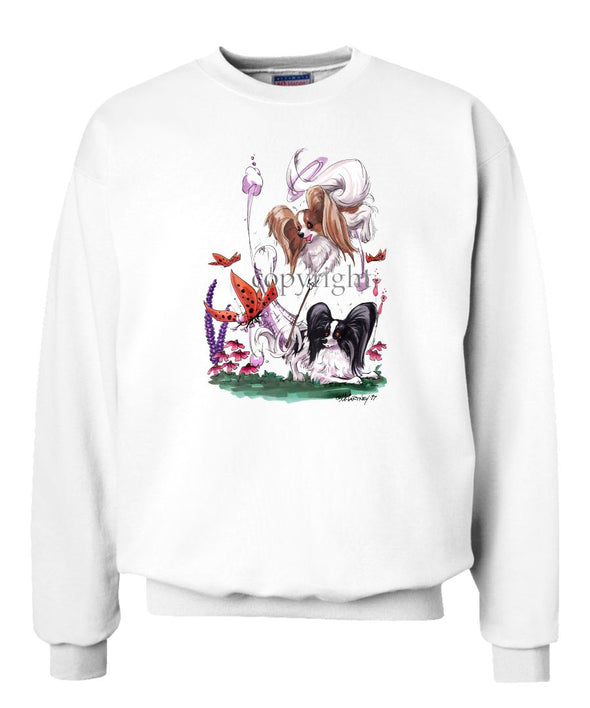 Papillon - Group Butterfly Net - Caricature - Sweatshirt