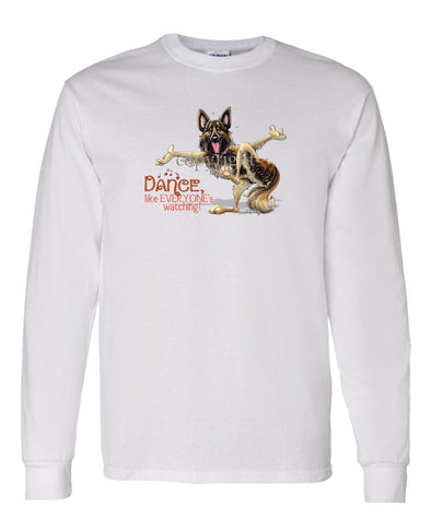 Belgian Tervuren - Dance Like Everyones Watching - Long Sleeve T-Shirt