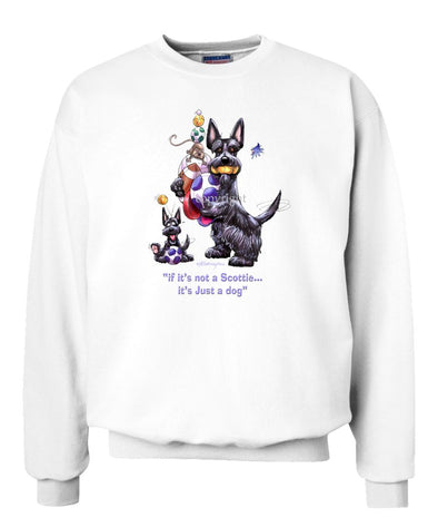 Scottish Terrier - Not Just A Dog - Sweatshirt