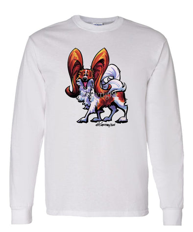 Papillon - Cool Dog - Long Sleeve T-Shirt