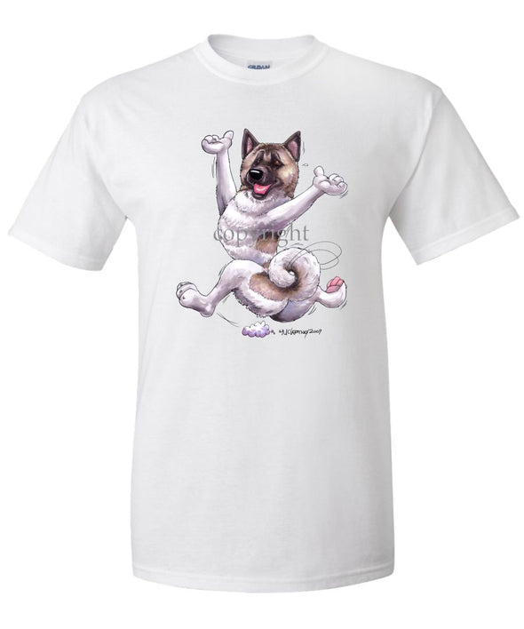 Akita - Happy Dog - T-Shirt
