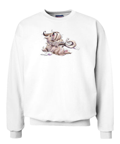 Lhasa Apso - Happy Dog - Sweatshirt