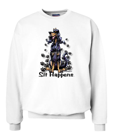 Gordon Setter - Sit Happens - Sweatshirt
