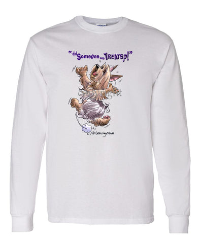 Silky Terrier - Treats - Long Sleeve T-Shirt