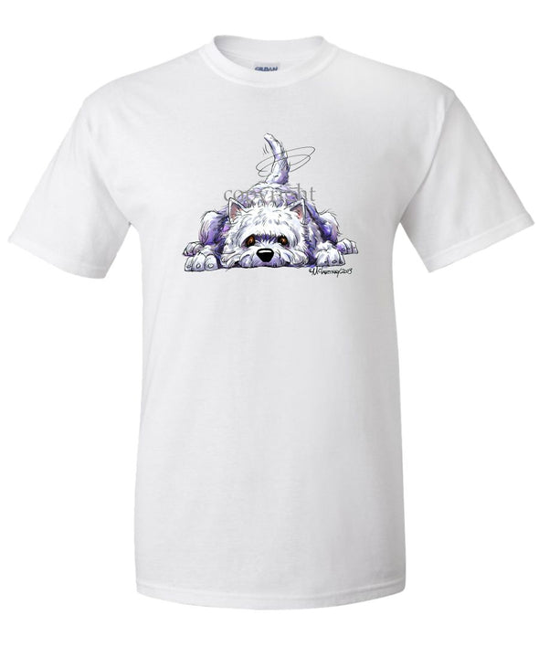 West Highland Terrier - Rug Dog - T-Shirt