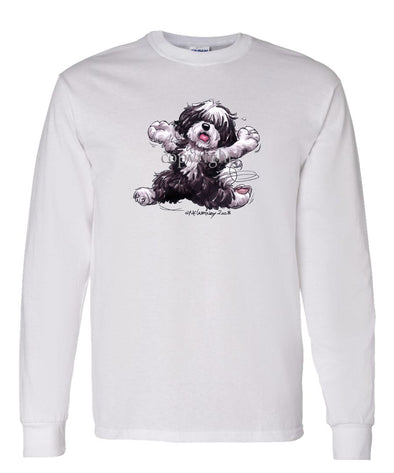 Havanese - Happy Dog - Long Sleeve T-Shirt