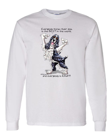 English Springer Spaniel - Best Dog in the World - Long Sleeve T-Shirt