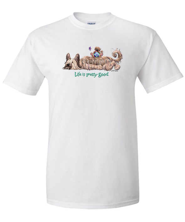 Briard - Life Is Pretty Good - T-Shirt