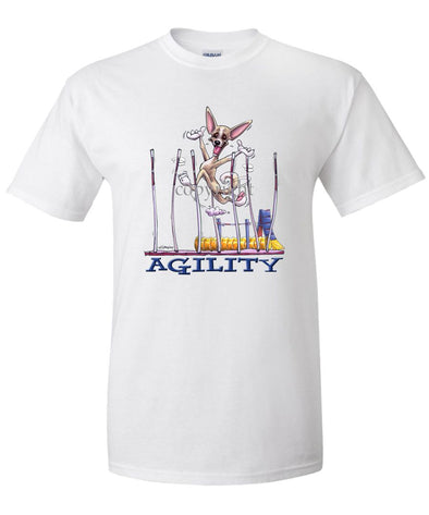 Chihuahua  Smooth - Agility Weave II - T-Shirt
