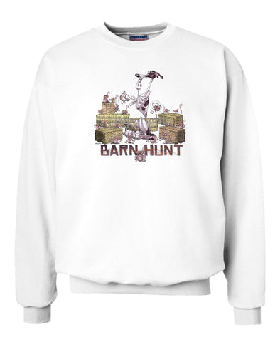 Greyhound - Barnhunt - Sweatshirt