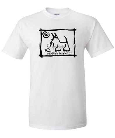 Scottish Terrier - Cavern Canine - T-Shirt