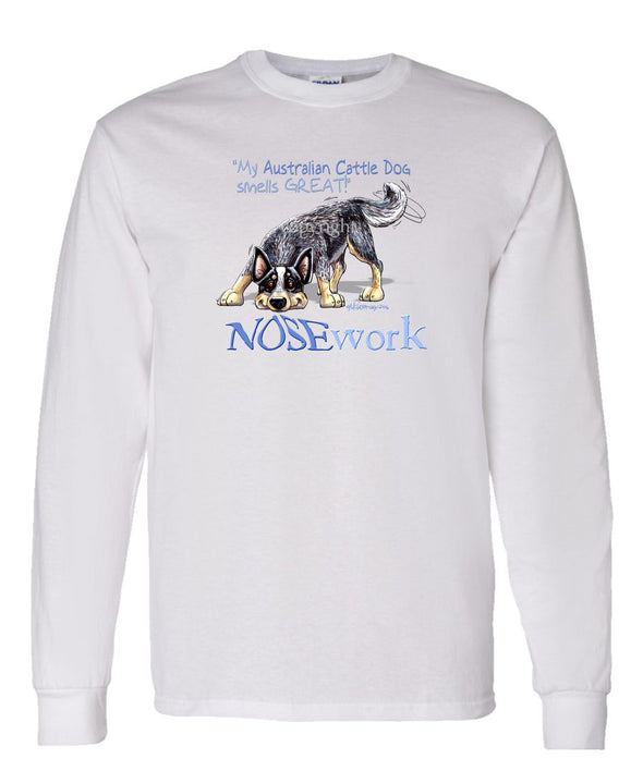 Australian Cattle Dog - Nosework - Long Sleeve T-Shirt