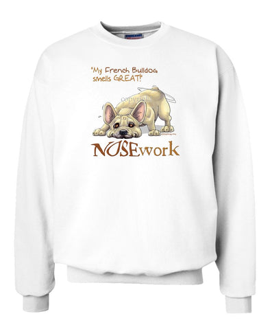 French Bulldog - Nosework - Sweatshirt