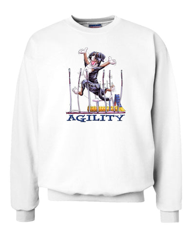 Greater Swiss Mountain Dog - Agility Weave II - Sweatshirt