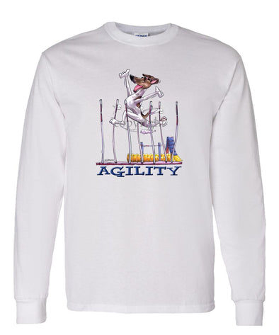 Smooth Fox Terrier - Agility Weave II - Long Sleeve T-Shirt