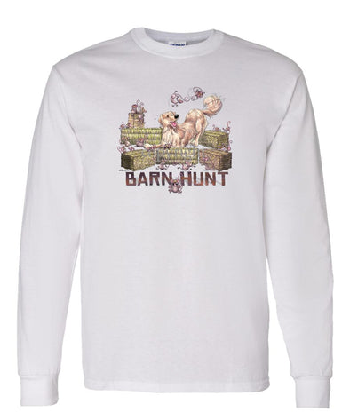 Golden Retriever - Barnhunt - Long Sleeve T-Shirt