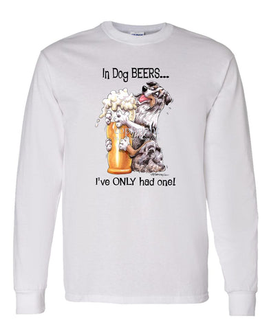 Australian Shepherd  Blue Merl - Dog Beers - Long Sleeve T-Shirt